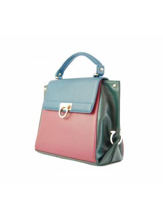 Портфель женский Salvatore Ferragamo трехцветный
