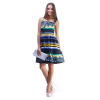 Платье Furla цветное