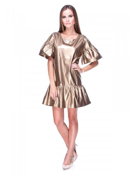 Платье Lacoste золотое