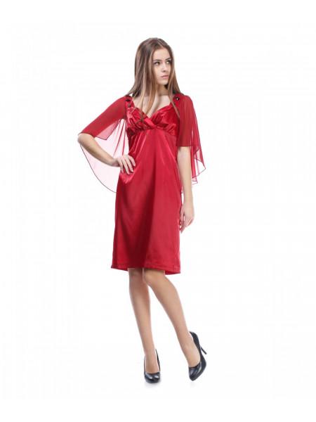 Платье женское красного цвета