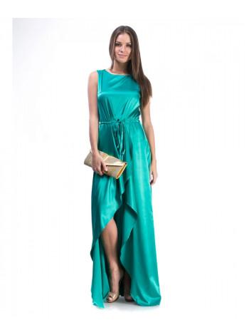 Платье женское бирюзового цвета