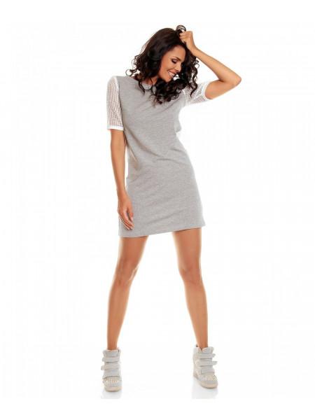 Платье женское серого цвета