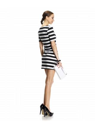Платье женское в полоску