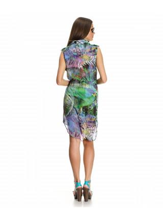 Платье женское разноцветное