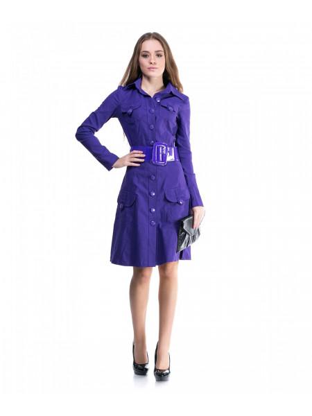 Платье женское фиолетового цвета