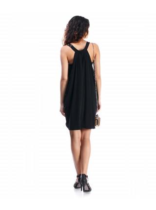 Платье женское черного цвета коктейльное