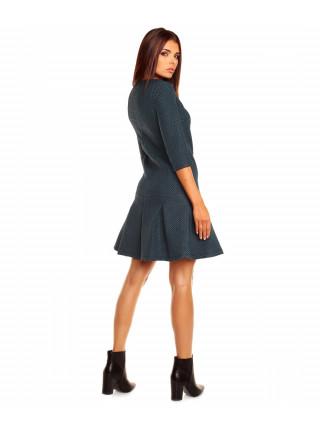 Платье женское темно-серого цвета
