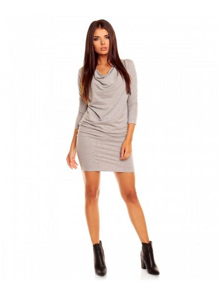 Платье женское светло-серого цвета