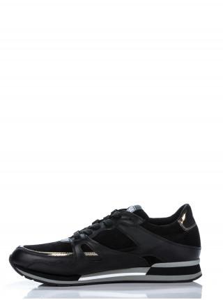 Кроссовки мужские Moschino черные