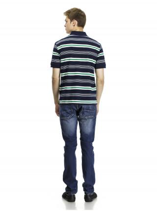 Поло Armani Jeans в полоску