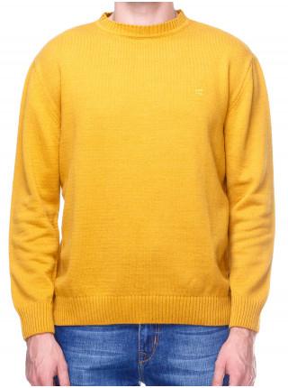 Джемпер мужской желтого цвета