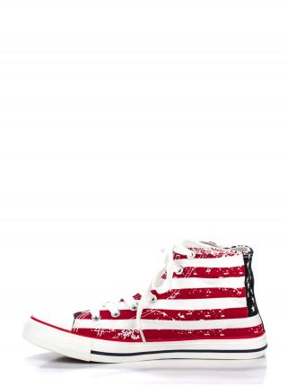 Кеды мужские Adidas трехцветные