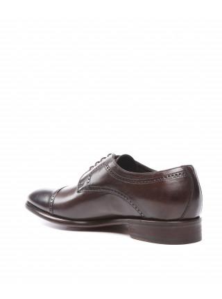 Туфли кожаные коричневого цвета