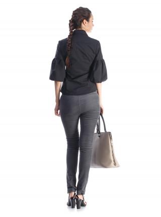 Блуза женская Lanvin черная