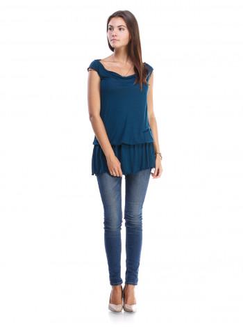 Туника женская Armani Jeans бирюзовая