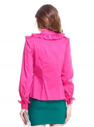 Блуза женская Lanvin малиновая