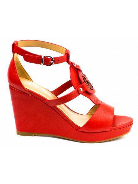 Босоножки женские Armani Jeans красные