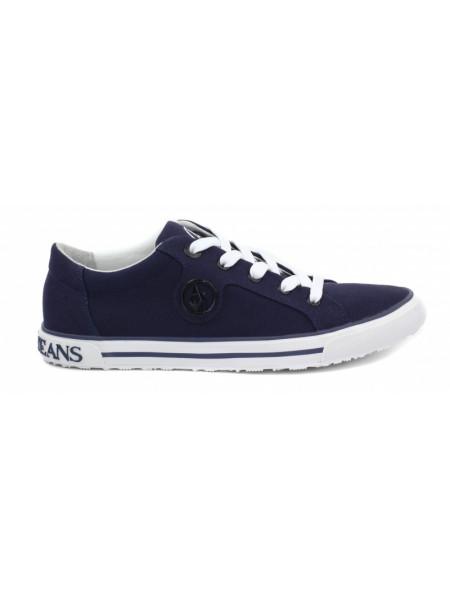 Кроссовки женские Armani Jeans синие
