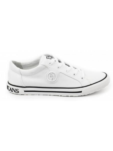 Кроссовки женские Armani Jeans белые