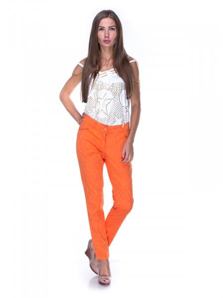 Брюки женские lanvin оранжевые