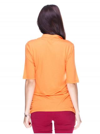 Футболка женская Accessories оранжевая