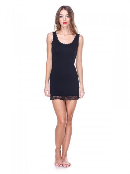 Сорочка женская Accessories черная