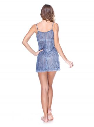 Сорочка женская Accessories синяя